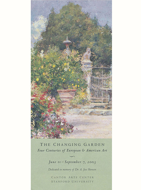 The Changing Garden: Four Centuries of European & American Art (Exhibition Brochure)