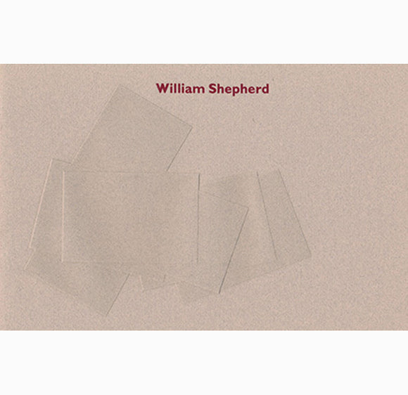 William Shepherd:  Events About a Rectangle: Book Cover