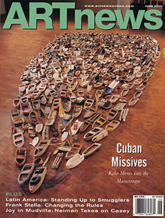 ArtNews (Volume 99, Number 6, June 2000), cover