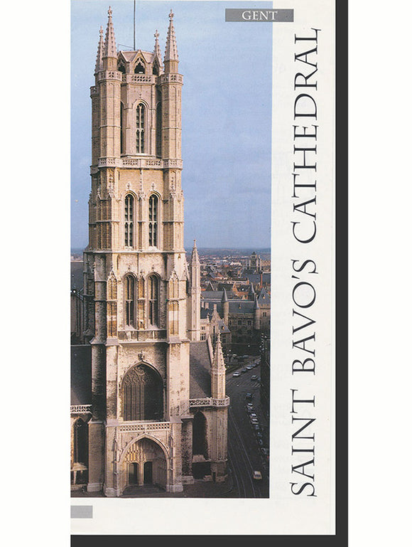 Saint Bavo's Cathedral Guide, cover