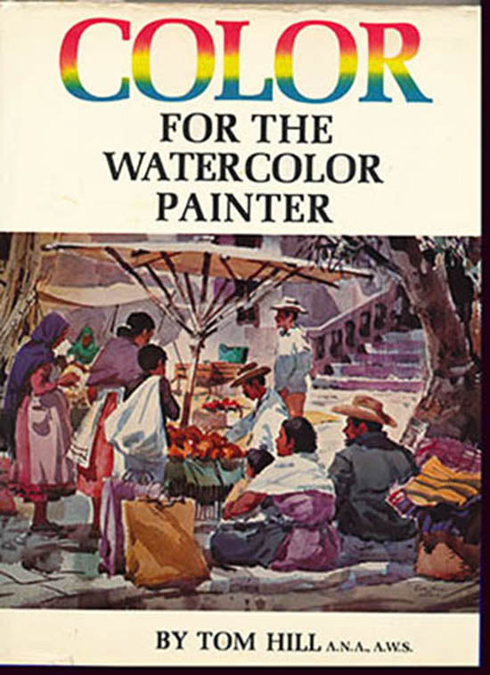 Color for the Watercolor Painter, book cover