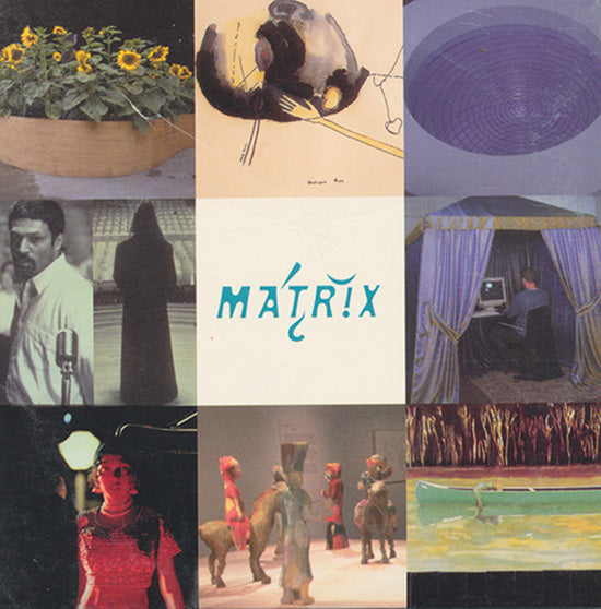 Matrix 180-187  (DVD From the Matrix Program at the Berkeley Art Museum), cover