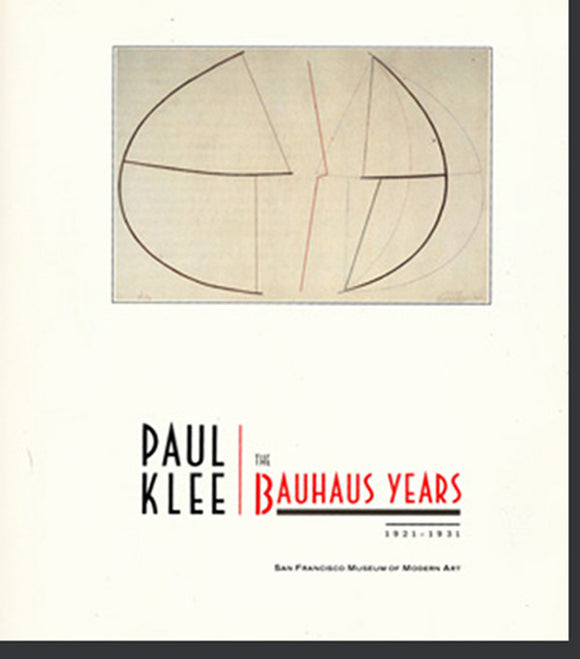 Paul Klee: The Bauhaus Years 1921-1931, cover