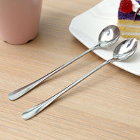 Long Custom Coffee Stainless Steel Spoon