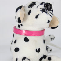 Crocodile Texture PU Leather Dog Collar