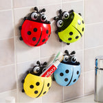 Cute Ladybug Toothbrush Holders