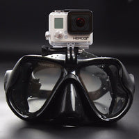 Hi-Grade Diving Snorkel Mask With Gopro mount!