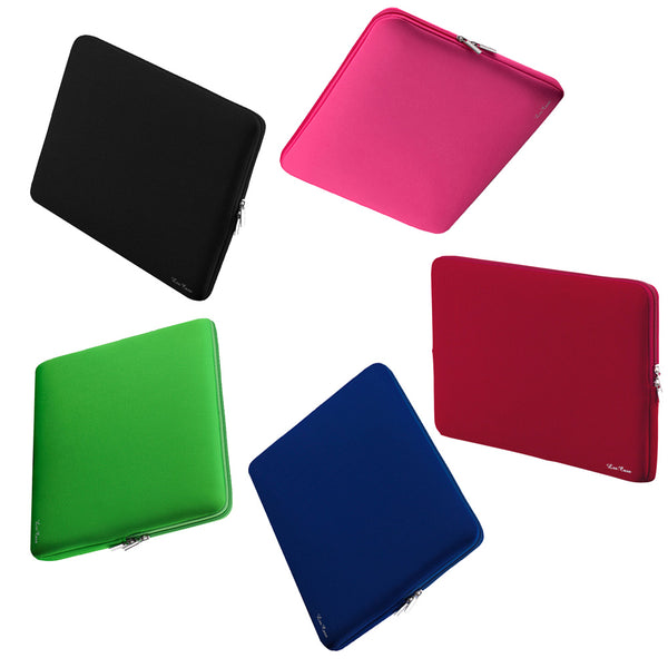 Soft Sleeve Zipper Protective Bag Case For All Macbooks and Laptops
