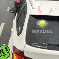 3D Funny Car Sticker