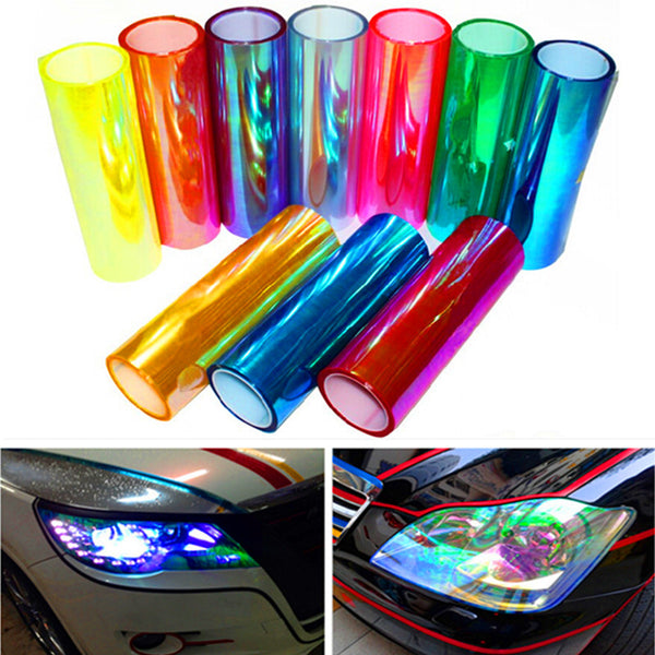 Car Head Light Film Vinyl Sticker