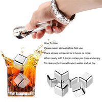 Stainless Steel Reusable Ice Cubes