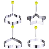 4pc Stainless Steel Egg/Pancake Shaper