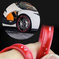 8M Colored Car/Motorcyle Wheel Strips