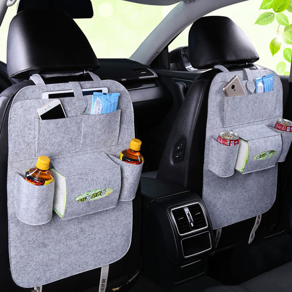 Car Back Seat Organizer Multi-Pocket Storage