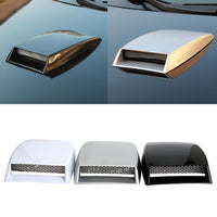 Exterior Air Flow Intake Scoop Vent
