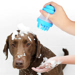 Happy Dog Bathing Scrub