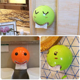 Creative Cartoon Ball Toilet Paper Organizer