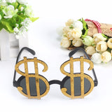 Money Eyes Prop Eyeglasses