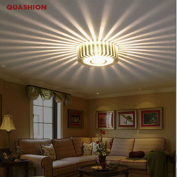 Creative Led Modern Ceiling Lights (7 colors)