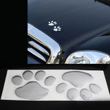 3D Puppy Paws for any car!