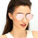 Polarized Rose Gold Sunglasses