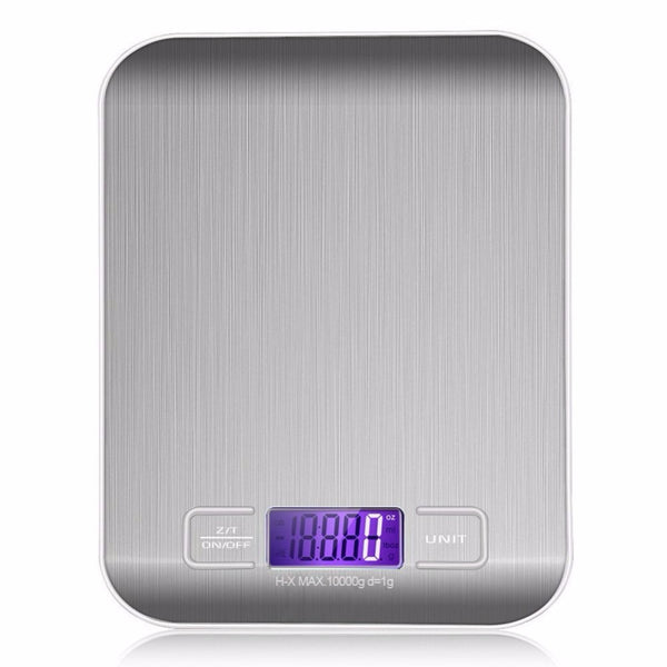 Electronic Digital Kitchen Scale (22 lb max)