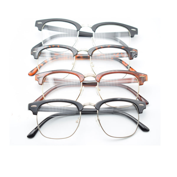 Vintage Retro Clear Lens Glasses Eyeglasses