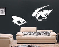 Large Eyes Beauty Pop Wall Art Vinyl Sticker
