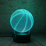 3D Basketball LED Light (7 Color Changing)