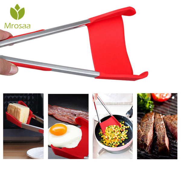 New 2-In-1 Spatula And Tong