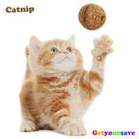 Natural Catnip Treat Ball for Cats - Edible!