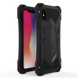 iPhone X Ultimate Protection Armour Metal Shockproof Case