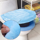 Toilet Warmer Cover Pad Comfortable Plush Fits all Toilets