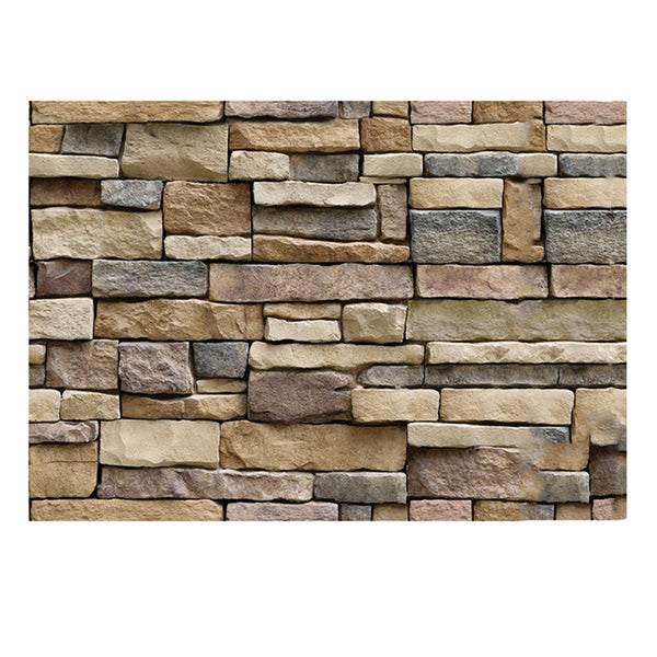 3D BrickStone Wall Adhesive Wallpaper