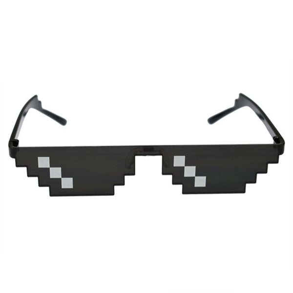 8-Bit Pixel Design Sunglasses