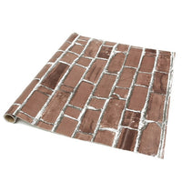 3D Worn Brick Adhesive Wall