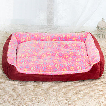 Padded Dog Bed Waterproof and Washable