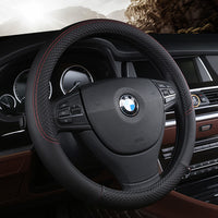 Universal Fit Steering Wheel Cover PU Leather