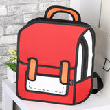 2D Unisex Backpack Bag