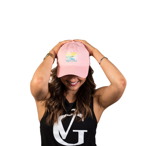 Vegan Vibes Sunset Hat