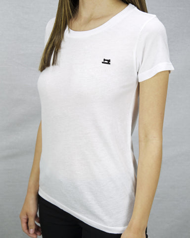 Women's white shirt made in Los Angeles