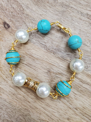 Beaded Bracelet - Fit fashion boutique