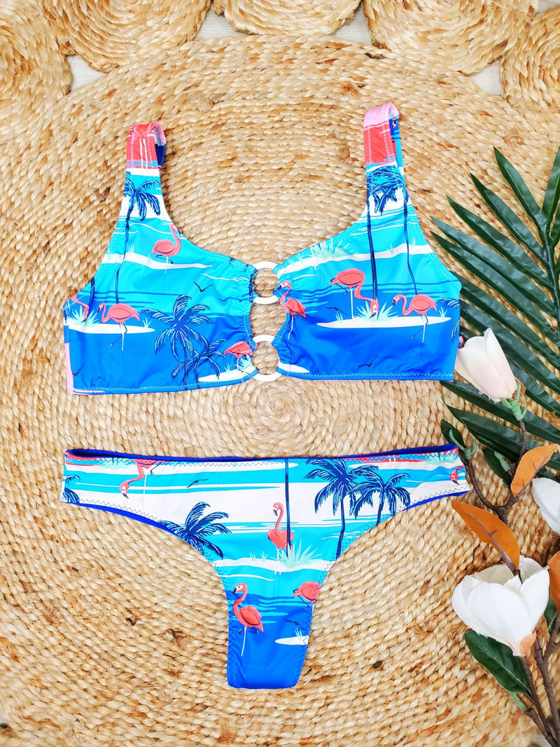 """PHAX"" SEMI THONG BIKINI SET"