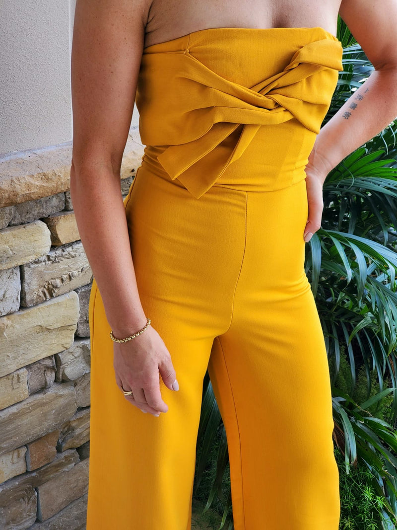 Juliet Strapless Jumpsuit