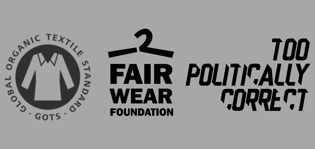 sustainable clothing, TPC, Too Politically Correct