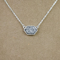 Annabelle Necklace: Silver