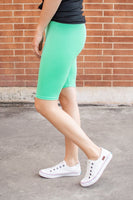 Bermuda Leggings | Mint