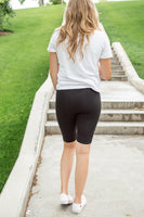 Bermuda Leggings | Black