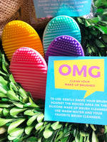 Silicone Egg Shaped Make Up Brush Cleaner