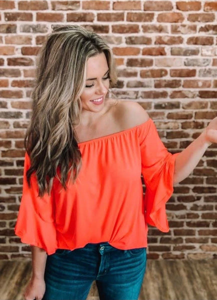Southern Belle Ruffle Top